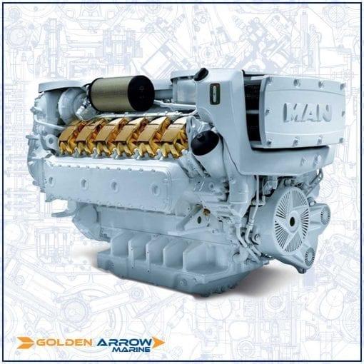 man engine. golden arrow marine. volvo penta engine. boat engineer. marine engineering